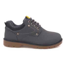 Sapatos Clássicos Sapatos JX-20 Cinza