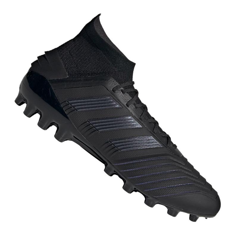 Chuteiras de futebol adidas Predator 19.1 Ag M EF8982 preto preto