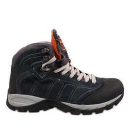 Marinha Sapatos masculinos azuis marinhos 7264