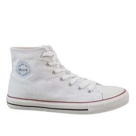 Branco Sapatilhas masculinas brancas clássicas CQ-1401