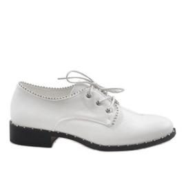 Sapatos Brancos Jazzówki Ćwieki 6288-2