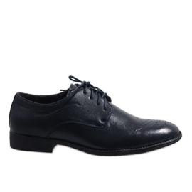 Marinha Sapatos elegantes azul escuro D181502B