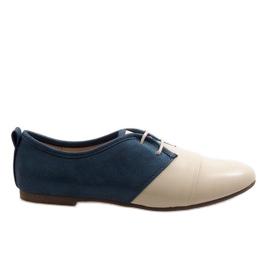 Oxford bege dois sapatos oxford