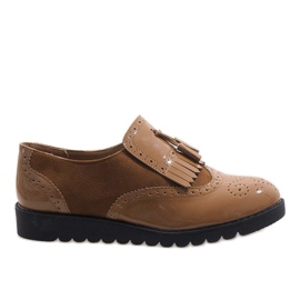 Marrom Camel jazz botas camurça sapatos TL-63