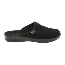 Preto Sapatos masculinos befado pu 548M020