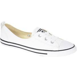 Branco Sapatos Converse Chuck Taylor All Star Ballet Em C547167C