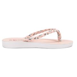 Seastar -de-rosa Flip-flops tecidos rosa