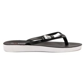 Seastar preto Flip-flops com arco