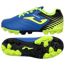 Botas de futebol Joma Toledo 904 Fg Jr. TOLJW.904.24 azul azul
