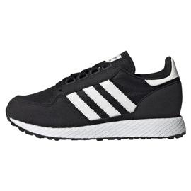 Preto Sapatos Adidas Originals Forest Grove Jr EE6557