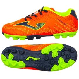Botas de futebol Joma Champion Jr 908 Fg CHAJW.908.24 laranja laranja