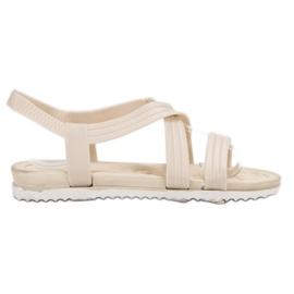 SHELOVET Sandálias De Borracha branco