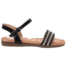 Emaks Sandálias Femininas Confortáveis preto