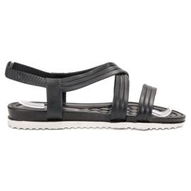 SHELOVET Sandálias De Borracha preto