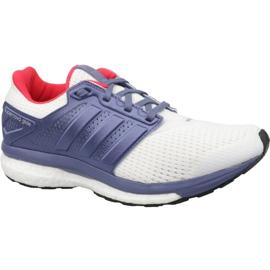 Branco Sapatos Adidas Supernova Glide 8 W S80277