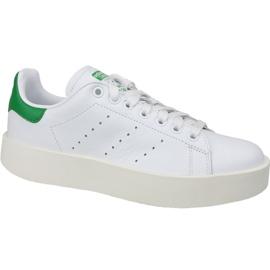 Sapatos Adidas Stan Smith Bold em S32266 branco