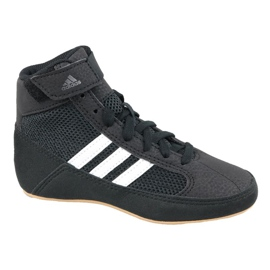 Preto Sapatos Adidas Havoc K Jr AQ3327