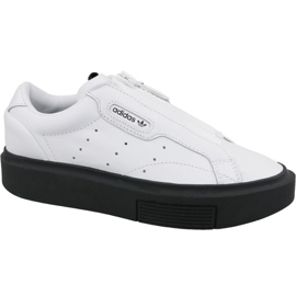 Sapatos Adidas Sleek Super Zip W EF1899 branco