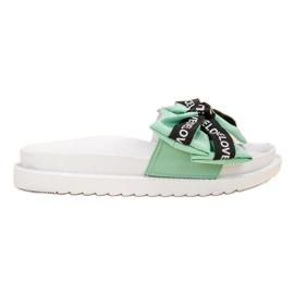 Jumex verde Flip Flops Com Arco De Amor