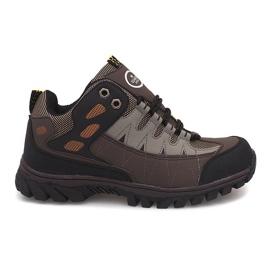 Marrom Sapatos Masculinos - Trekking M317 Castanho