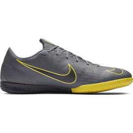 Sapatos de futebol Nike Mercurial Vapor X 12 Academia Ic cinza M AH7383 070