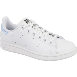 Branco Sapatos Adidas Stan Smith Jr AQ6272