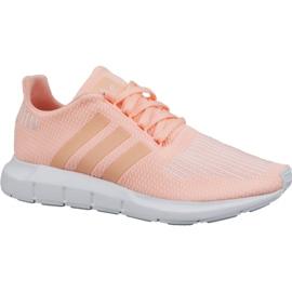 -de-rosa Calçados Adidas Swift Run Jr CG6910