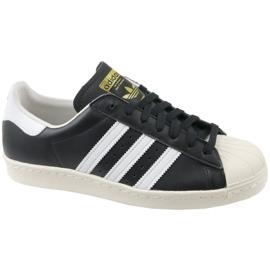 Preto Sapatilhas Adidas Superstar 80S M G61069