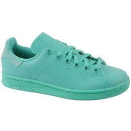 Azul Sapatos Adidas Stan Smith Adicolor W S80250