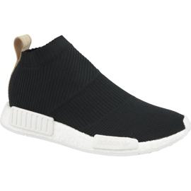 Preto Sapatos Adidas Nmd CS1 Pk M AQ0948