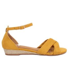 Sandálias Alpargatas Amarelo 9R121 Amarelo