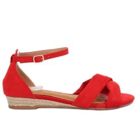 Sandálias Alpargatas Vermelho 9R121 Vermelho