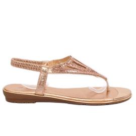 Flip-flops, rosa M03 Champagne -de-rosa