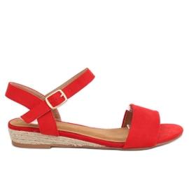 Sandálias Alpargatas Vermelho 9R73 Vermelho