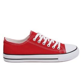 Vermelho Sapatilhas femininas clássicas vermelhas XL03 Bigred