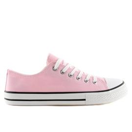 -de-rosa Sapatilhas femininas clássicas rosa XL03 rosa