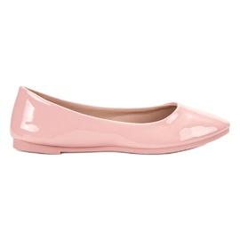 SHELOVET Bailarina lacada -de-rosa