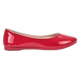 SHELOVET vermelho Bailarina lacada