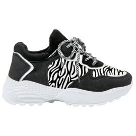 SHELOVET Cópia elegante da zebra das sapatilhas