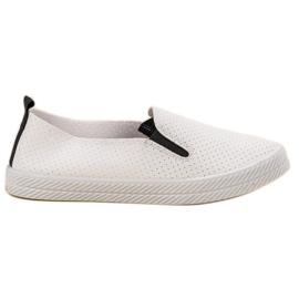 Kylie branco Sapatilhas Brancas