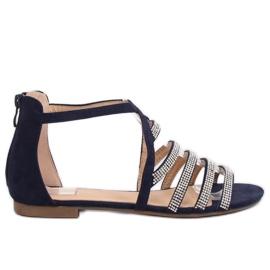 Sandals azul marinho para mulher LL6339 Azul marinha