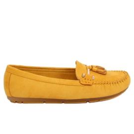Mocassins amarelo L7183 Amarelo