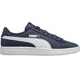 Marinha Sapatos Puma Smash v2 LM 365215 05 azul marinho