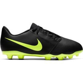 Nike Phantom Venom Clube Fg Jr AO0396 007 sapatos de futebol preto