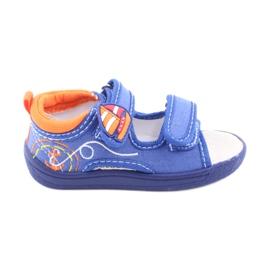 American Club Sandálias americanas calçados infantis palmilha de couro