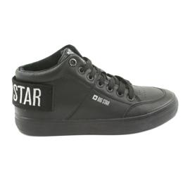 Sapatilhas pretas altas Big Star 274351 preto