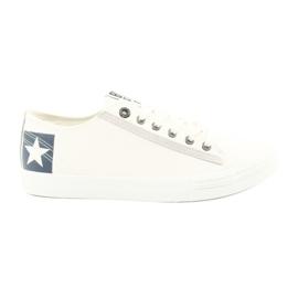 Big Star Grande estrela meia-botas brancas 174074