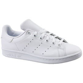 Branco Sapatos Adidas Stan Smith Jr S76330