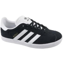 Preto Sapatos Adidas Gazelle Jr BB2502