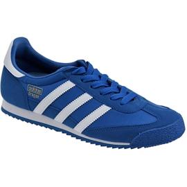 Azul Sapatos Adidas Dragon Og Jr BB2486